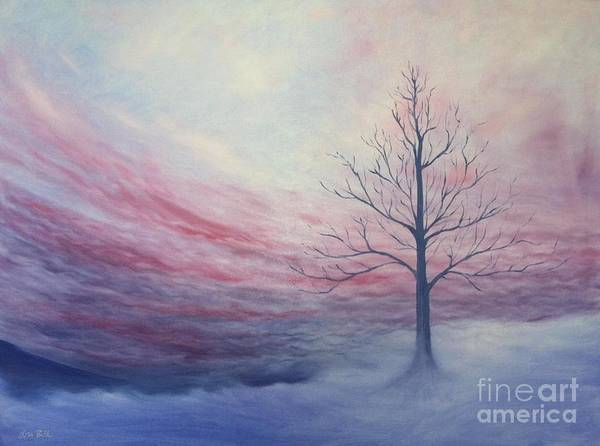Wall Art - Painting - Through The Fog by Lisa Bell