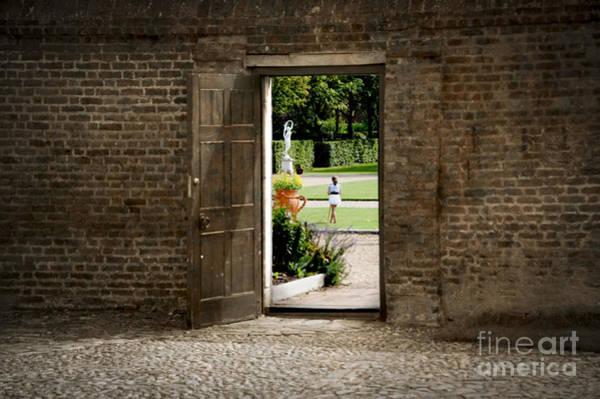 Wall Art - Photograph - Through The Garden Gate by Donald Davis