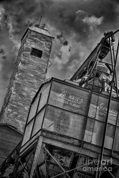 Photograph - Through The Mill Bw by Ken Williams
