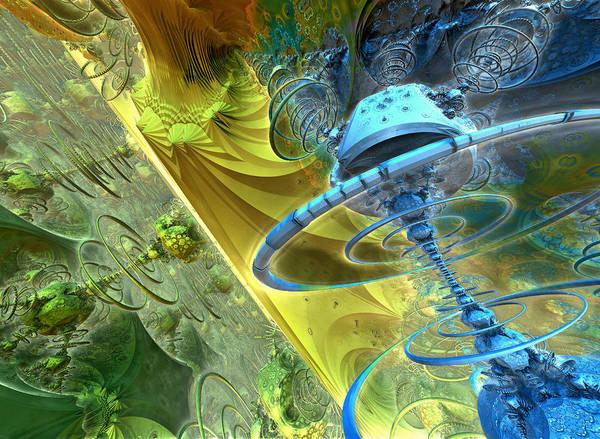 Wall Art - Digital Art - Thunderball by Pam Blackstone