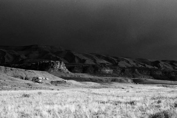 Thunderstorm Raplee Anticline Utah Art Print