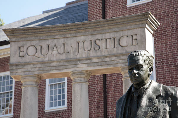 Photograph - Thurgood Marshall Memorial In Annapolis by William Kuta