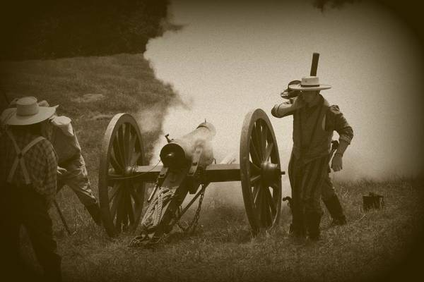 Photograph - Thwarting A Union Advance by David Dunham