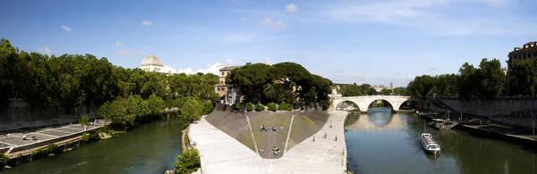 Tiber Island Wall Art - Photograph - Tiber Island by Fabrizio Troiani