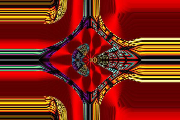 Digital Art - Tic Toc Five by Theodore Jones