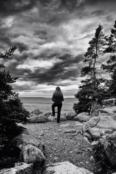 Photograph - Tide Watcher by Sara Hudock