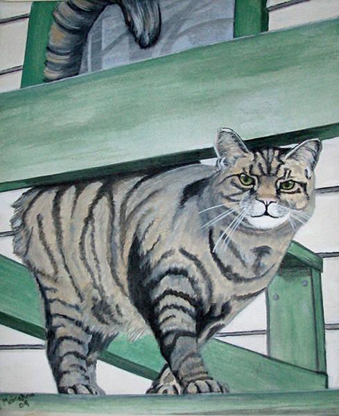 Tigger Wall Art - Painting - Tigger by MoiraAnn Brennan
