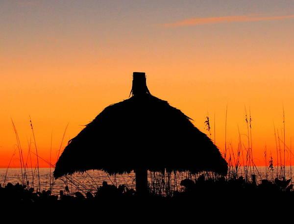 Photograph - Tiki Sunset by Sean Allen