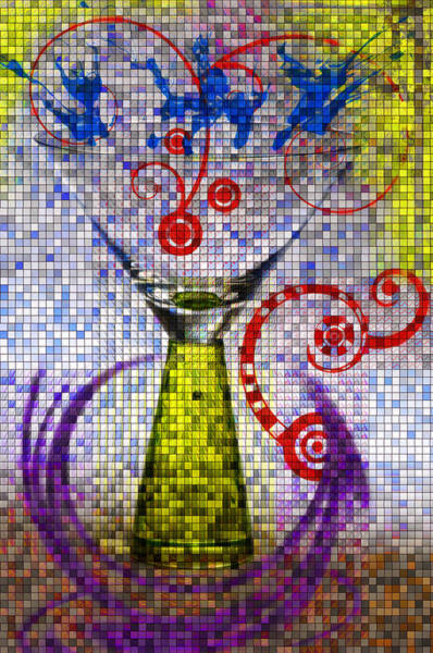 Tiled Glass Art Print
