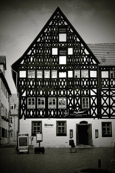 Photograph - Timber-frame House Weimar by Christine Till