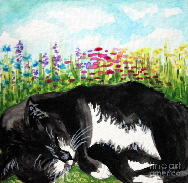 Painting - Time For A Snooze by Elizabeth Robinette Tyndall