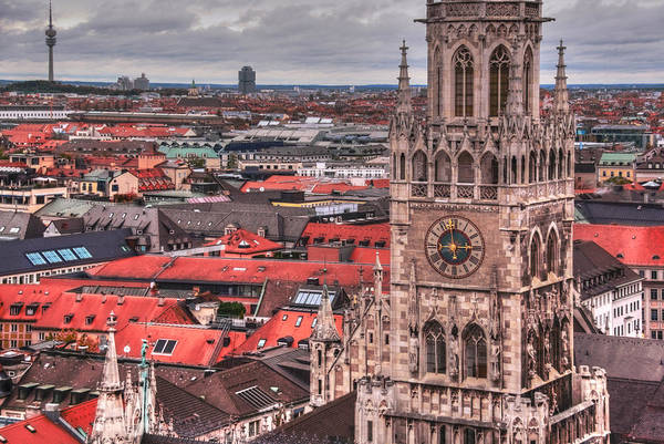 Glockenspiel Photograph - Time For Munich by Anthony Citro