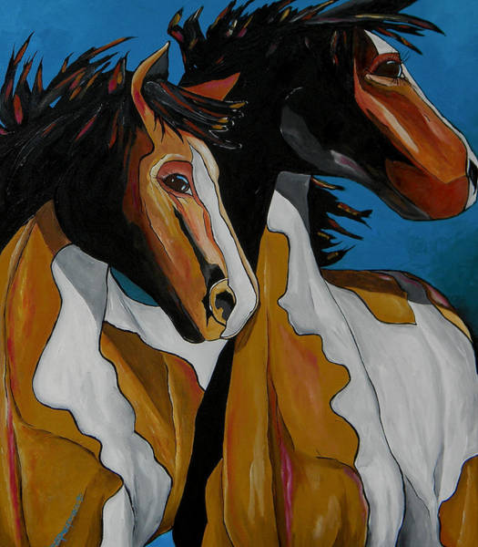 Painting - Time To Ride by Patti Schermerhorn