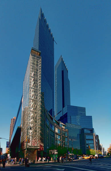 Photograph - Time Warner Center by S Paul Sahm