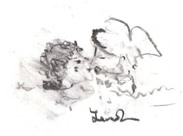 Drawing - Timeless Love by Laurie Lundquist