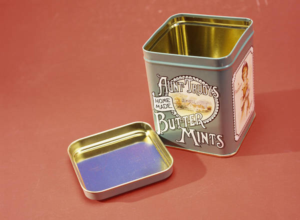 Tin Box Photograph - Tin Box by Andrew Lambert Photography