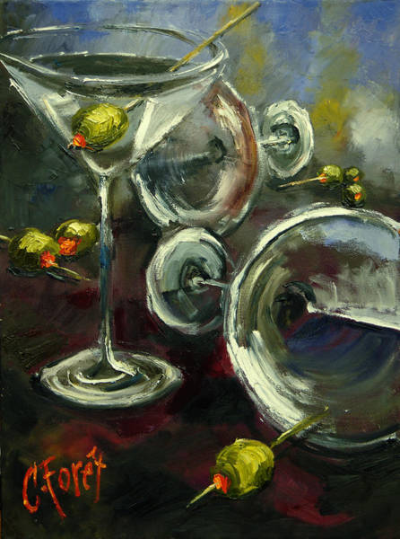 Wall Art - Painting - Tipsy Turvy by Carole Foret
