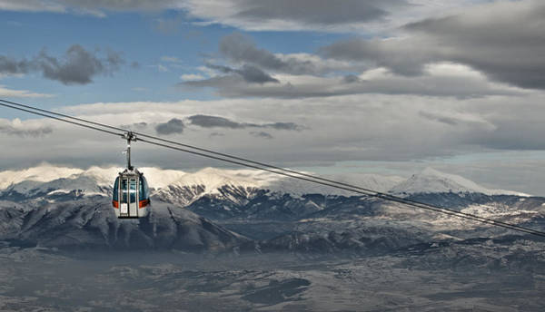 Lift Photograph - To The Top by Ivan Vukelic