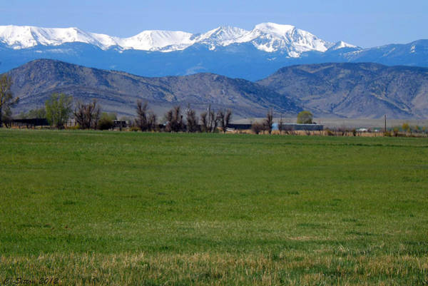 Photograph - Tobacco Root Mountains by C Sitton
