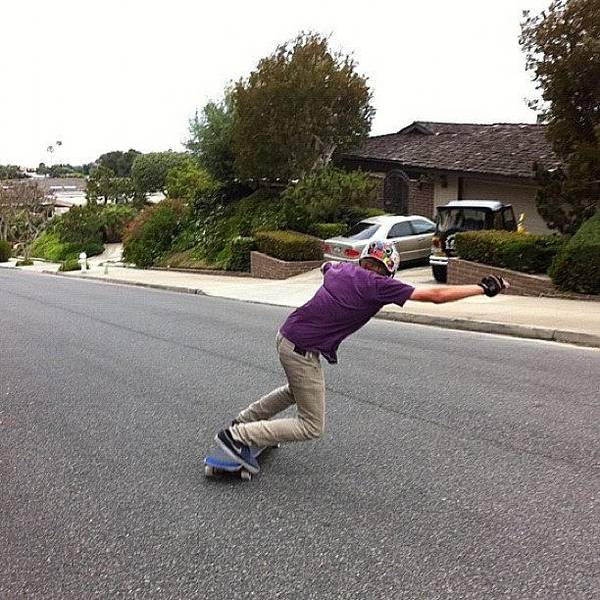 Sweden Wall Art - Photograph - Toeside! By @anthonymanolelis by Sweden Longboards