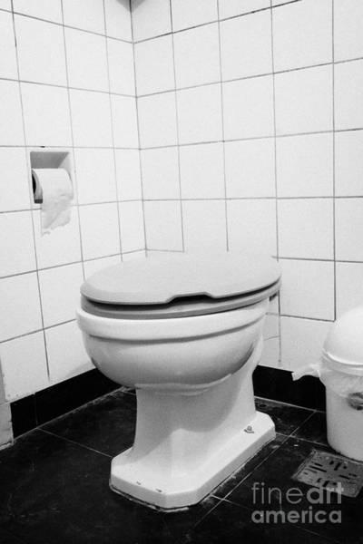 Toilet Photograph - Toilet Seat Down In Bathroom  by Joe Fox