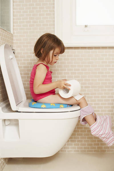 Toilet Photograph - Toilet Training by Ian Boddy