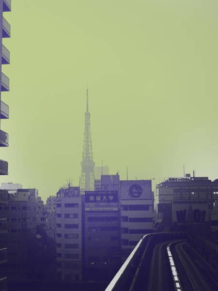 Wall Art - Photograph - Tokyo City Ride by Naxart Studio
