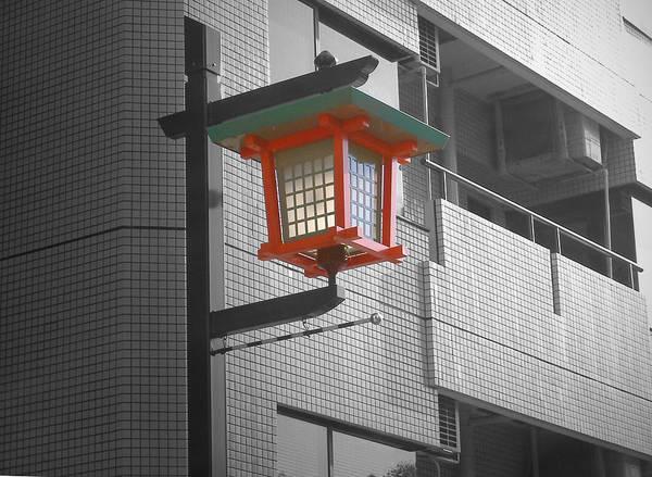 Tokyo Street Light Art Print