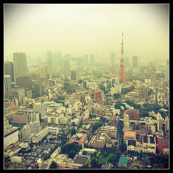 Japan Photograph - Tokyo Tower  by Marc Gascoigne