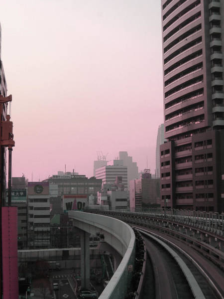 Wall Art - Photograph - Tokyo Train Ride 6 by Naxart Studio
