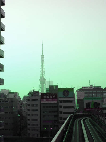 Wall Art - Photograph - Tokyo Train Ride 7 by Naxart Studio