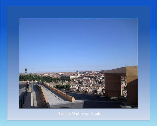Photograph - Toledo Walkway Spain by John Shiron