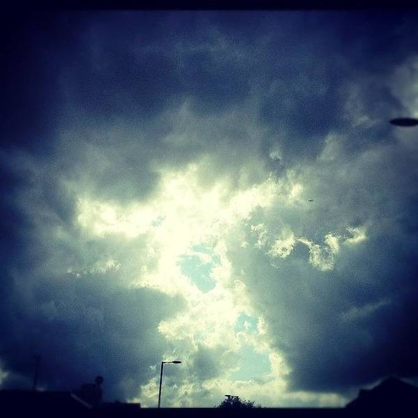 Wall Art - Photograph - Tolgate Road - #weather #clouds #storm by Junaid Khan