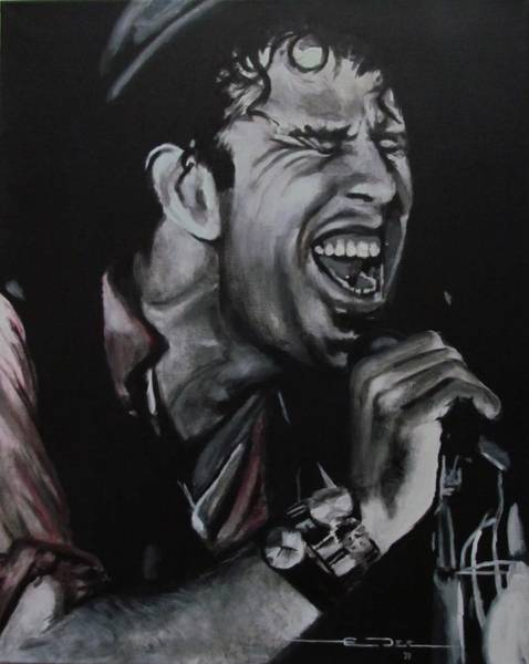Painting - Tom Waits - Shore Leave - Charlene by Eric Dee