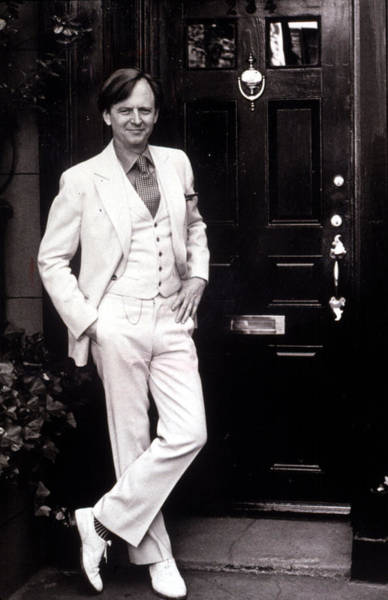 Mail Slot Photograph - Tom Wolfe, 1976 by Everett