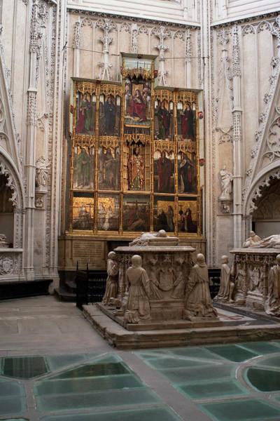 Photograph - Tomb Of The Monarchs Of Castile by Lorraine Devon Wilke
