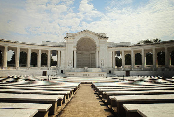 Famous Cemeteries Photograph - Tomb Of The Unknown Soldier And Terrace by Charles Knox
