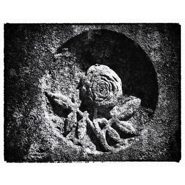 Monochrome Wall Art - Photograph - Tombstone Detail by Dave Edens