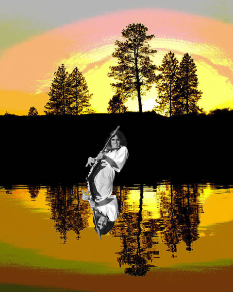 Photograph - Tommy Bolin On Amber Lake by Ben Upham III