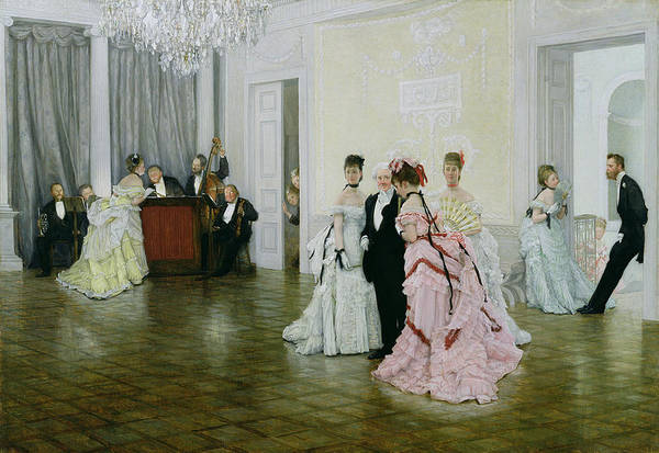 Painting - Too Early by James Jacques Joseph Tissot