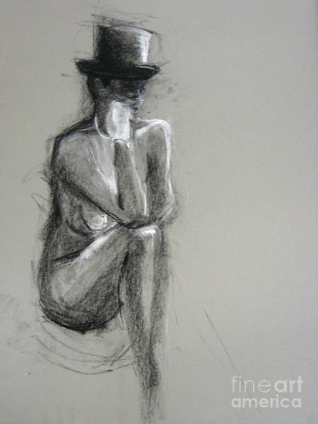 Art Print featuring the drawing Top by Gabrielle Wilson-Sealy
