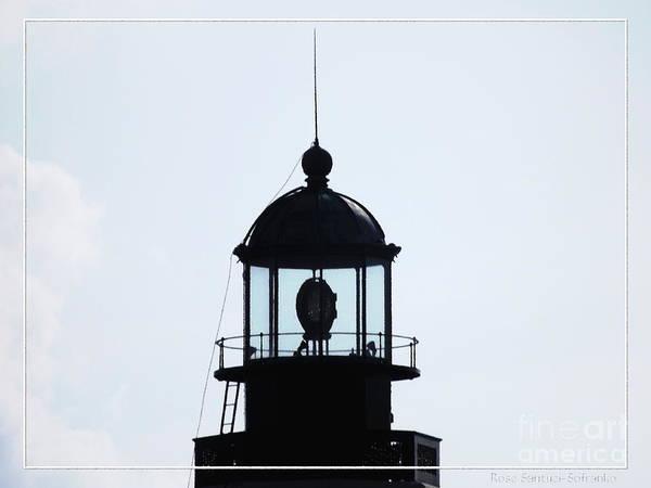 Photograph - Top Of Buffalo Main Lighthouse by Rose Santuci-Sofranko