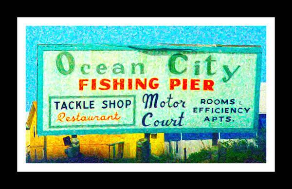 Hurricane Digital Art - Topsail Island Old Sign by Betsy Knapp