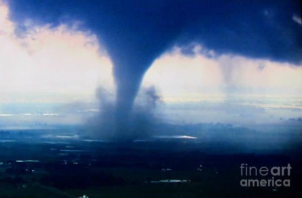 Photograph - Tornado Blast by Stanley Morganstein