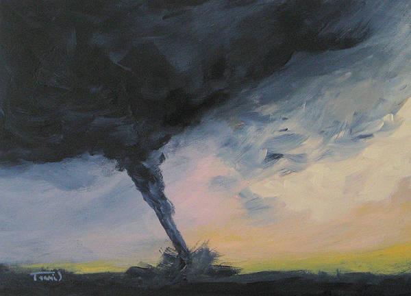 Wall Art - Painting - Tornado Iv by Torrie Smiley