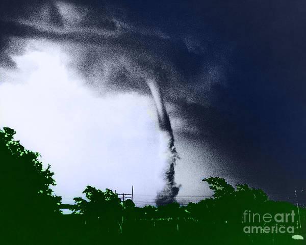 Photograph - Tornado by Omikron