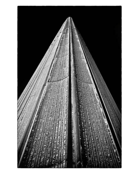 Photograph - Toronto City Hall East Tower by Brian Carson