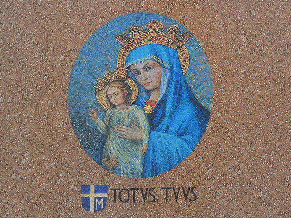 Photograph - Totvs Tvvs - Jesus And Mary by Bill Cannon