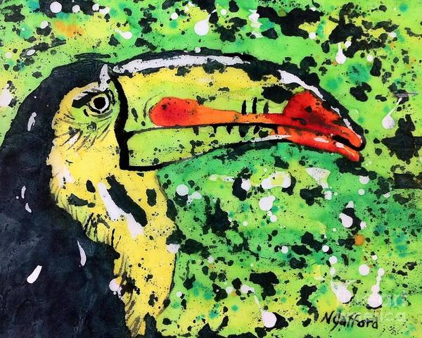 Painting - Toucan by Norma Gafford