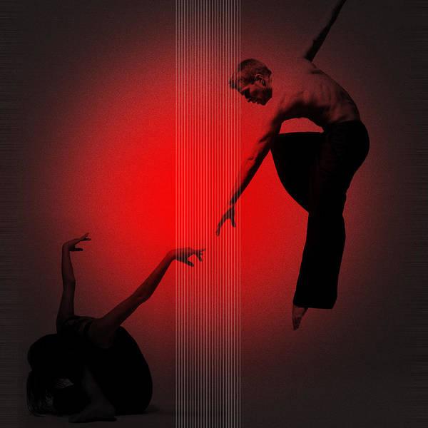 Dancing Digital Art - Touch by Naxart Studio
